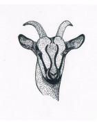 Cuirs et peaux de chèvre - Cuir Naturel